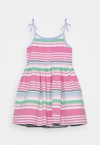 Polo Ralph Lauren - OXFORD STRIPE DRESSES - Day dress - pink multi - 1