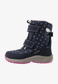 Geox - KURAY GIRL  - Zimní obuv - navy - 1
