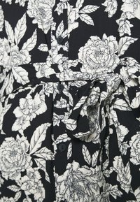 JDY - BARCELONA  - Košilové šaty - black/white - 5