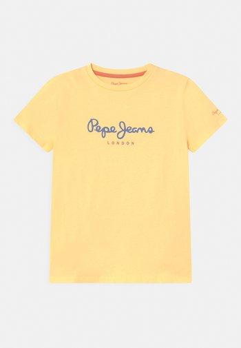 ART NEW - T-shirt med print - bleach orange