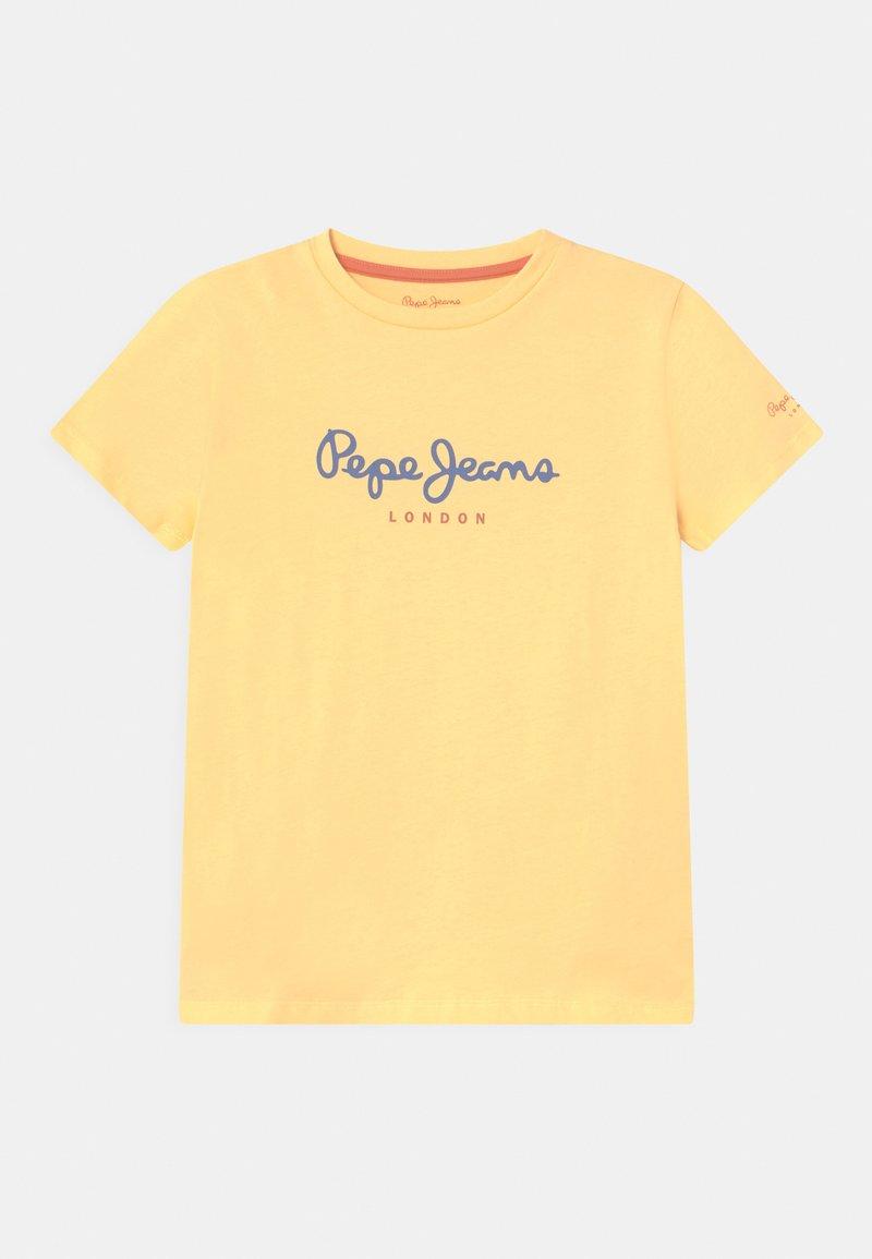 Pepe Jeans - ART NEW - Print T-shirt - bleach orange