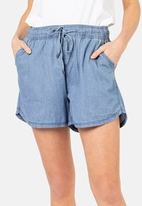 Sublevel - Denim shorts - middle-blue - 0