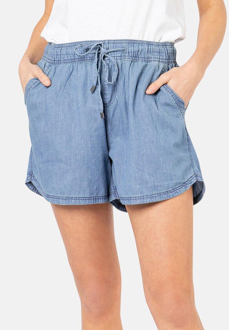 Sublevel - Denim shorts - middle-blue