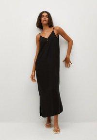 Mango - EMMA-I - Day dress - black - 0