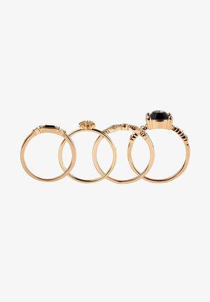 4ER SET RINGE VON DIANA ZUR LÖWEN - Ring - gold