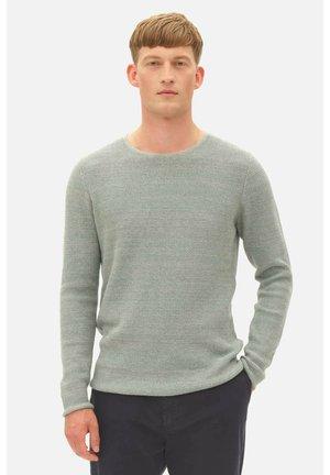 STRUCTURE - Fleece jumper - mineral green