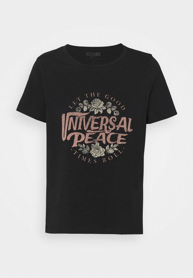 NMNATE UNIVERSAL - Camiseta estampada - black