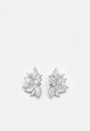 PCSARAFIA EARRINGS - Pendientes - silver-coloured