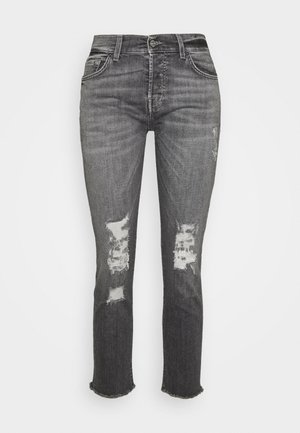 ASHER - Jeans slim fit - grey