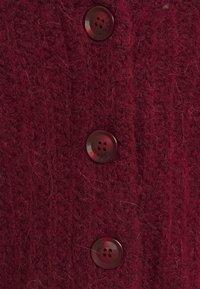 Esprit - Cardigan - bordeaux red - 2