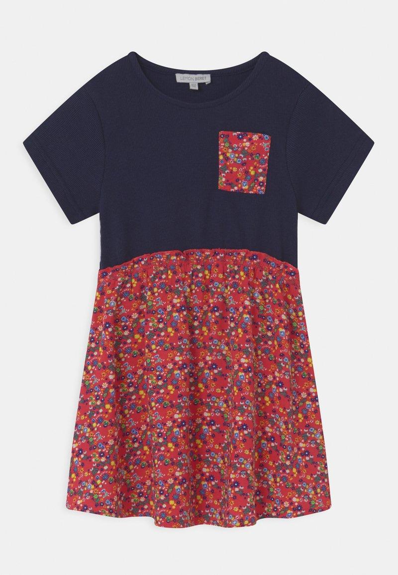 Lemon Beret - SMALL GIRLS - Jersey dress - dress blues