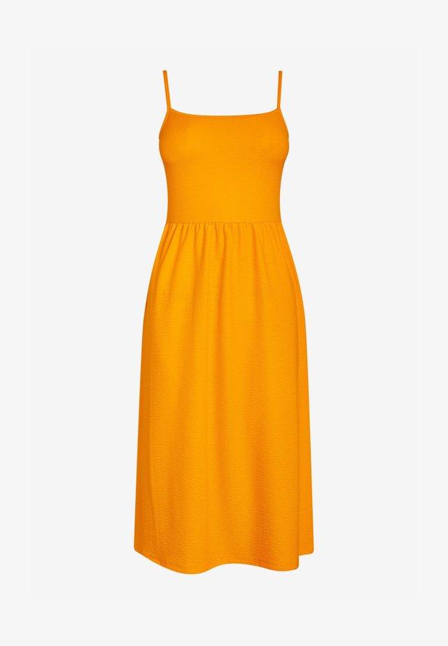 Žerzejové šaty - orange