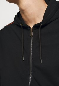 Paul Smith - GENTS ZIP THROUGH TAPED SEAMS HOODY - Felpa aperta - black - 5