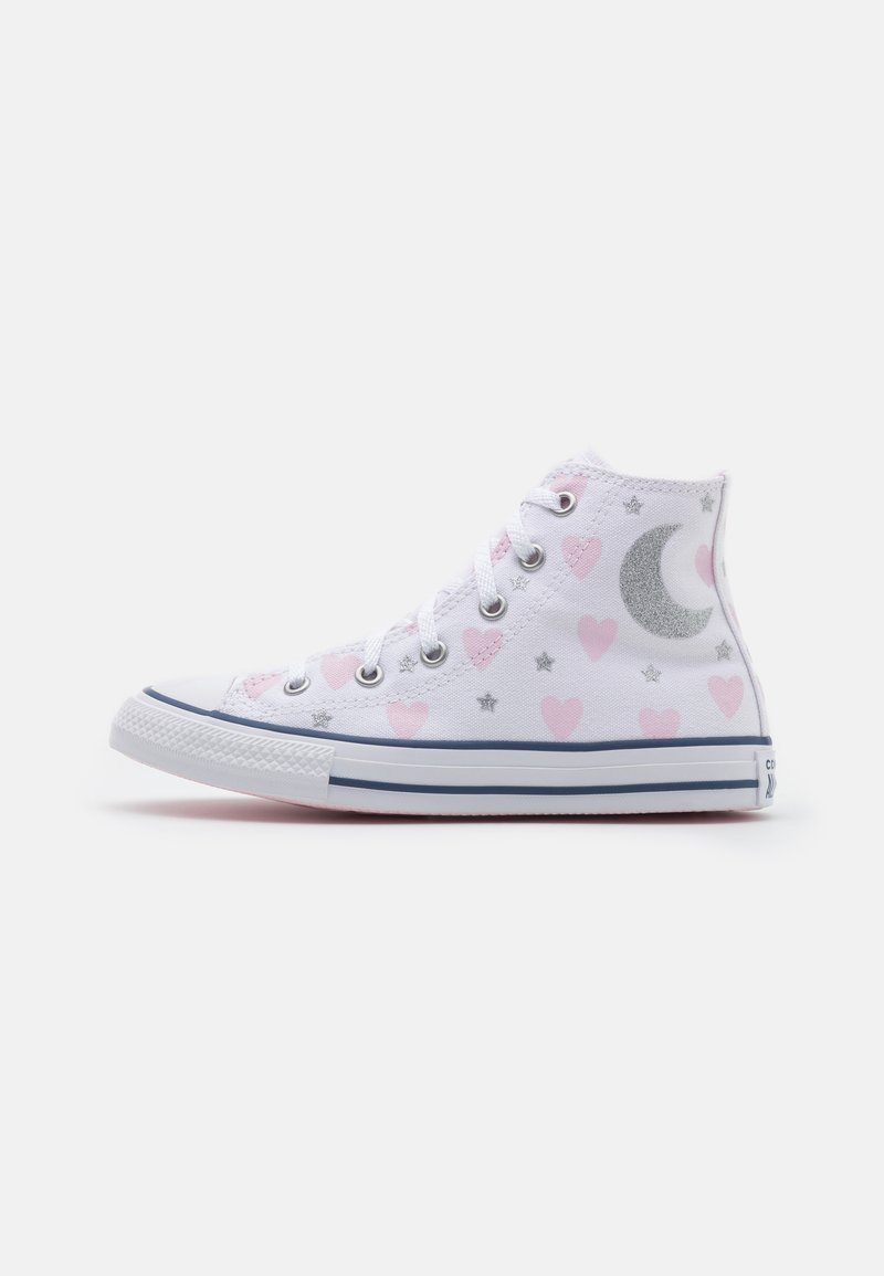 Converse - CHUCK TAYLOR ALL STAR UNISEX - High-top trainers - white/pink/black