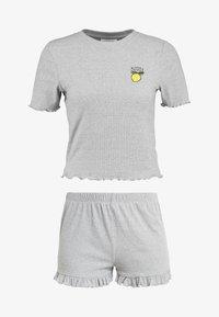 Topshop - BITTER SWEET SET - Pyjama - grey - 4