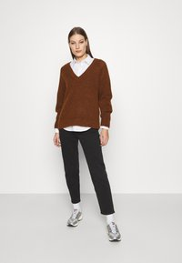 Selected Femme - Jumper - bordeaux - 1