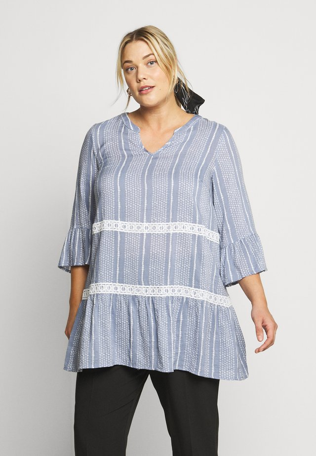YFAISAI - Blusa - light blue