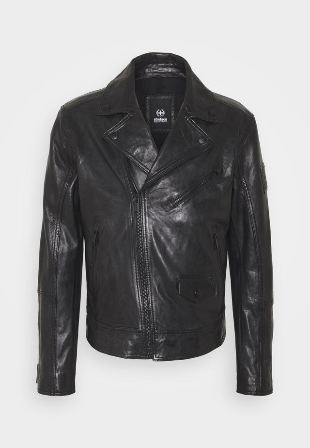 ORIGLIO - Leather jacket - black