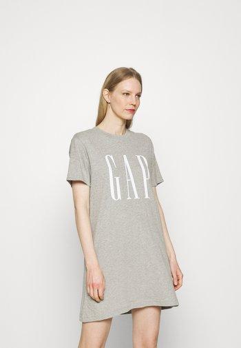 TALL DRESS - Jersey dress - grey heather