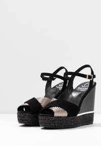 Kanna - NICOLE - High heeled sandals - black - 4