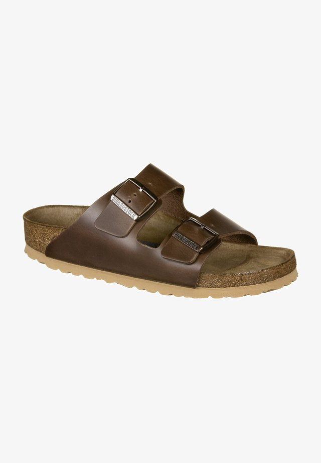 Sandalen - antique pull espresso