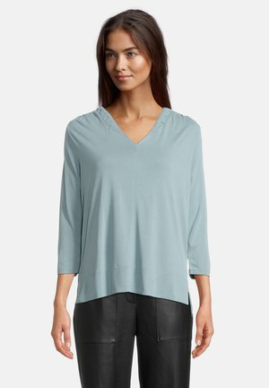 MIT 3/4 ARM - Long sleeved top - mineral blue