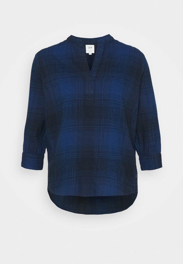 ESSENTIAL BLOUSE - Langarmshirt - washed blue
