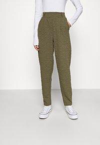 ONLY - ONLKIMBERLY JOYCE PANT - Trousers - kalamata - 0