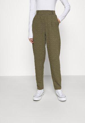 ONLKIMBERLY JOYCE PANT - Trousers - kalamata