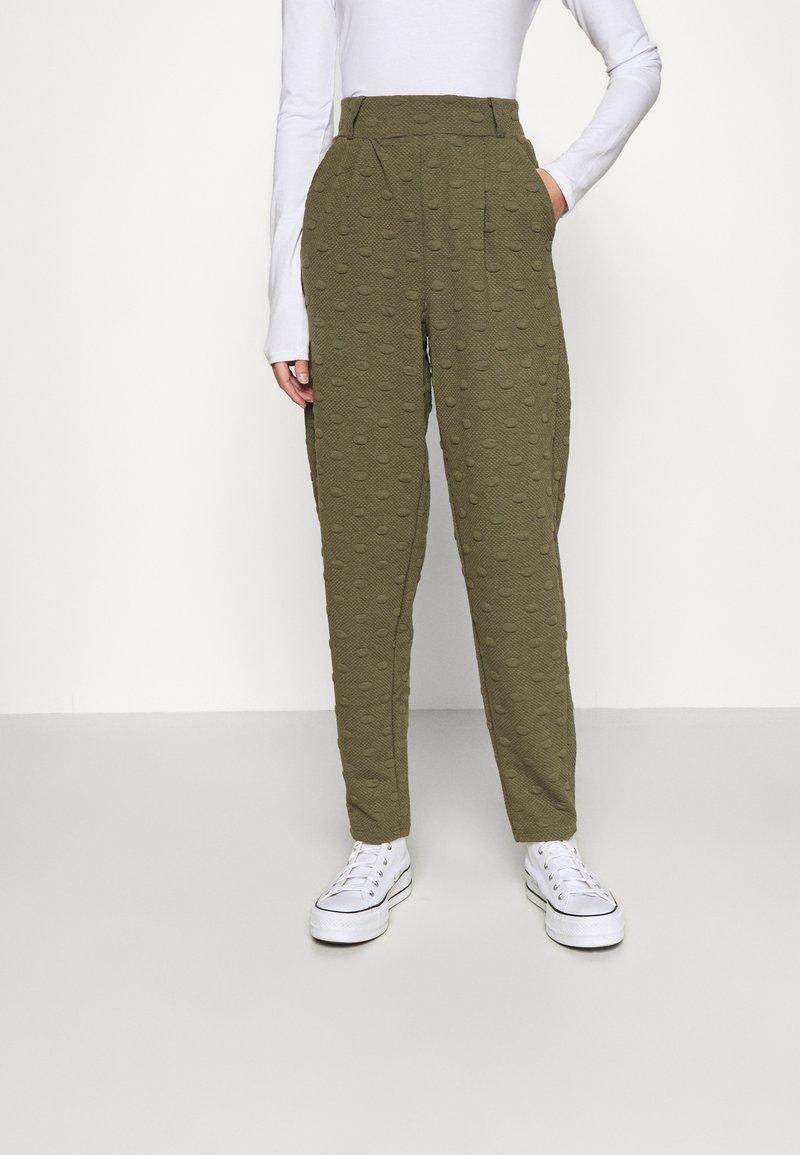 ONLY - ONLKIMBERLY JOYCE PANT - Trousers - kalamata
