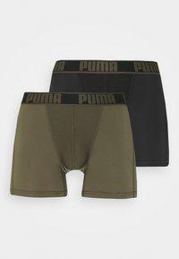 Puma - ACTIVE BOXER ECOM 2 PACK - Culotte - grape leaf combo - 4