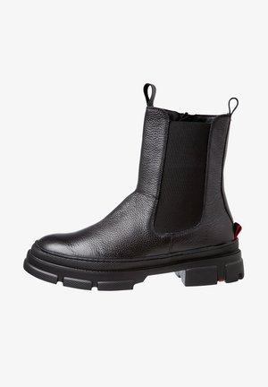 MIT REISSVERSCHLUSS - Ankle boots - schwarz