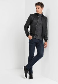 Solid - JOY  - Slim fit jeans - blue denim - 1