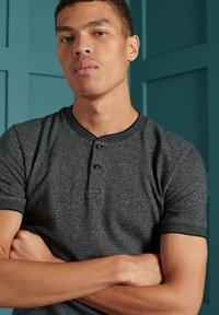 Superdry - T-shirt print - dark grey twill - 0