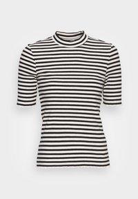 Selected Femme - ANNA CREW NECK TEE  - Print T-shirt - black - 3