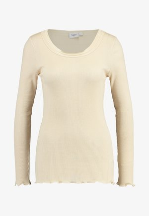 GLORIA - Long sleeved top - creme