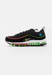 Nike Sportswear - AIR MAX 97 UNISEX - Zapatillas - black/green strike/flash crimson/white/off noir/blue fury - 0