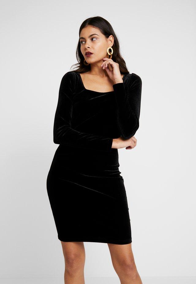 VINCI DRESS - Robe fourreau - black
