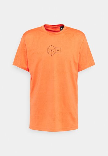 T-shirt - bas - turf orange/black