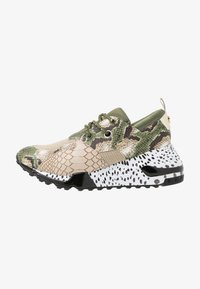 Steve Madden - CLIFF - Sneakers - olive/brown - 1