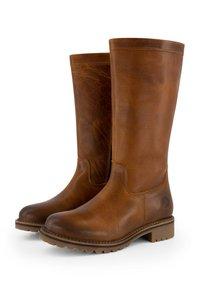 Travelin - VARDE - Boots - cognac - 3