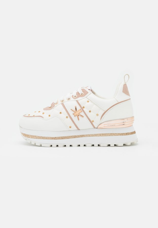 Sneakers laag - soft bianco/cipria