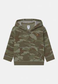GAP - HOODIE - Zip-up hoodie - desert cactus - 0