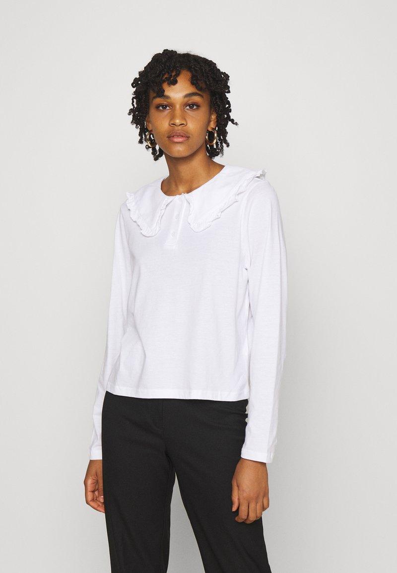 Monki - Pitkähihainen paita - white light