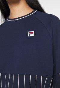 Fila - HELAINE CREW NECK  - Sweatshirt - black iris - 4
