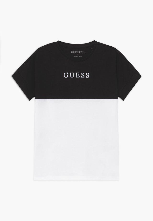 JUNIOR MIDI - T-shirt print - jet black