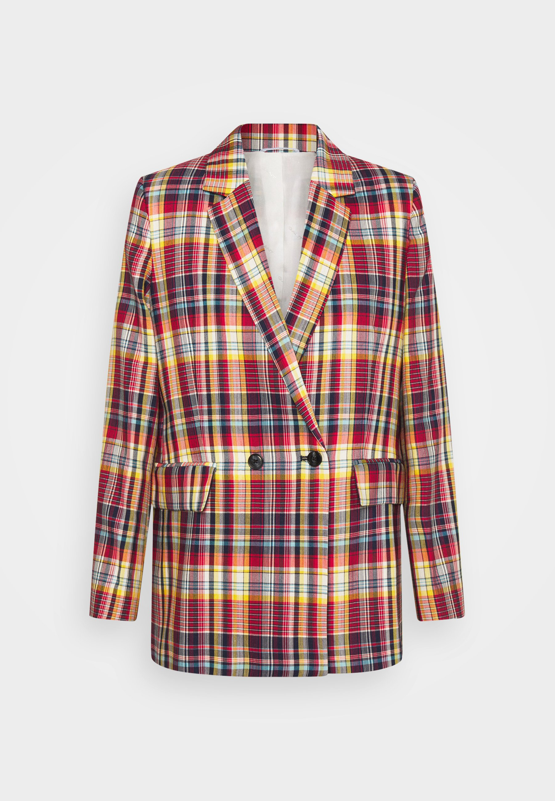 Women LONGLINE CHECKED - Short coat