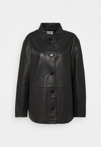 Holzweiler - FLORA JACKET  - Leather jacket - black - 3