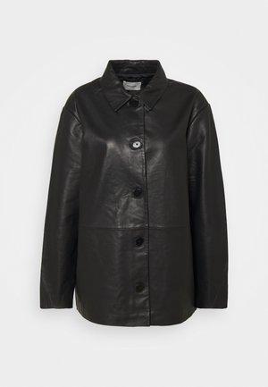 FLORA JACKET  - Kožená bunda - black