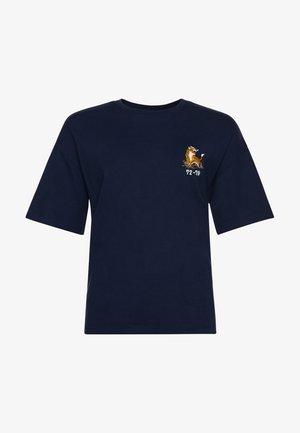 MILITARY - Print T-shirt - lauren navy